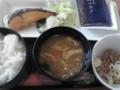 焼鮭朝食@デニーズ