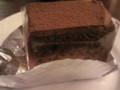 チョコレートケーキ@面影屋珈琲店