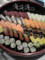 寺子屋ヒマナイヌ08「死の迎え方」懇親会の出前寿司