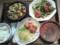 青椒肉絲と麻婆豆腐定食¥890@やよい軒池袋劇場通り店