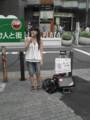 井上真希さんの路上ライブに遭遇@池袋メトロポリタンプラザ前