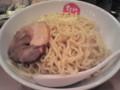季節限定グリーンカレーつけ麺大盛¥880@節骨麺たいぞう池袋東口