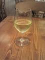 白ワイン(ドイツ)@エチカ池袋のエピスカフェ