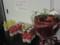 シックスアパート提供のビタミンウォーターと花束