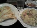 みんみんの餃子¥330と炒飯(チャーハン)¥600