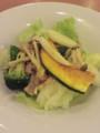 生ハムを使った、きのこと野菜のマリネサラダ仕立て@デニーズ