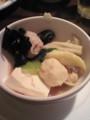 タイスキの具(きくらげ、豚肉、イカボール、豆腐)@コカレストラン