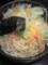 ジャンク塩つけそば 温野菜たっぷり!@前略っ。つけそばまるきゅう