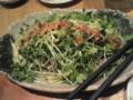 桜肉のバンバンジー風サラダ