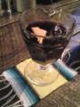 FREE FLOW RANCH の自家製サングリア 630円 香り付けにブランデー入りです