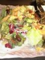 フライドトルティーヤのエスニック和風サラダ