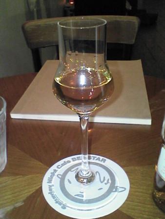 デザートアルコールにラム酒30ml