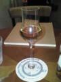 [ie cafe]デザートアルコールにラム酒30ml
