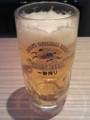 生ビール中ジョッキ(キリン一番搾り)@タイムズ スパ レスタ