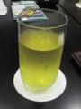 冷たいお茶で一息!@サントリー武蔵野ビール工場