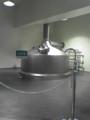 試作用のミニブルワリーの仕込釜