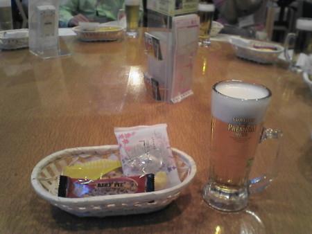 サントリープレミアムモルツ生@武蔵野ビール工場