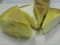 ベルメゾンの頒布会の濃厚チーズケーキを食べ比べ。