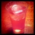 食前酒は、シェリー酒のソーダ割。 @ 楽旬堂 坐唯杏