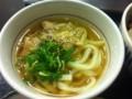 和風牛丼と鶏塩うどんのセット。 (@ なか卯 サンシャイン前店)