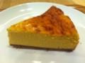 マンゴーと琉球紅茶のチーズケーキ (@ Cafe MUJI アトレヴィ巣鴨)