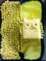 ちょこちょこ マイクロファイバー傘ケース&ミニミトン黄色