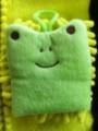 ちょこちょこ マイクロファイバーミニミトングリーン