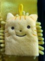 ちょこちょこ マイクロファイバーミニミトン黄色