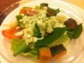 温野菜サラダ シーザードレッシング ¥418 @ ガスト 池袋西口店