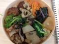 渋谷電源カフェ beez のランチ会のお弁当2