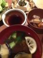 クロメ豆腐 がめ煮 / d47食堂