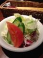 よくばりセットのミニサラダ at 66DINING_六本木六丁目食堂...