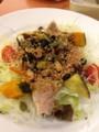 キヌアとひじきの和サラダ