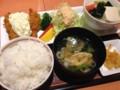 牡蠣フライ膳 ごはん大盛り at デニーズ_北池袋店
