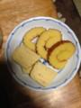 厚焼き卵と伊達巻き