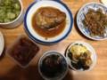 鯖の味噌煮、他