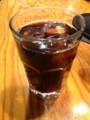 アイスコーヒー@ 野菜を食べるカレーcamp express 池袋店