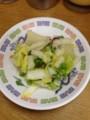 白菜の塩漬け