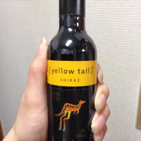 イエローテイル シラーズ ミニボトルワイン