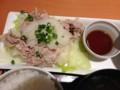 [デニーズ]豚しゃぶ膳