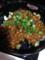 茄子の肉味噌丼