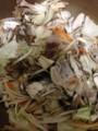 まいたけ、えのき茸、豚肉、野菜を炒める