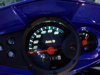 ココで→紹介→走行距離表示スピードメーター写メ