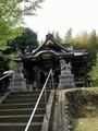 小野神社本殿正面