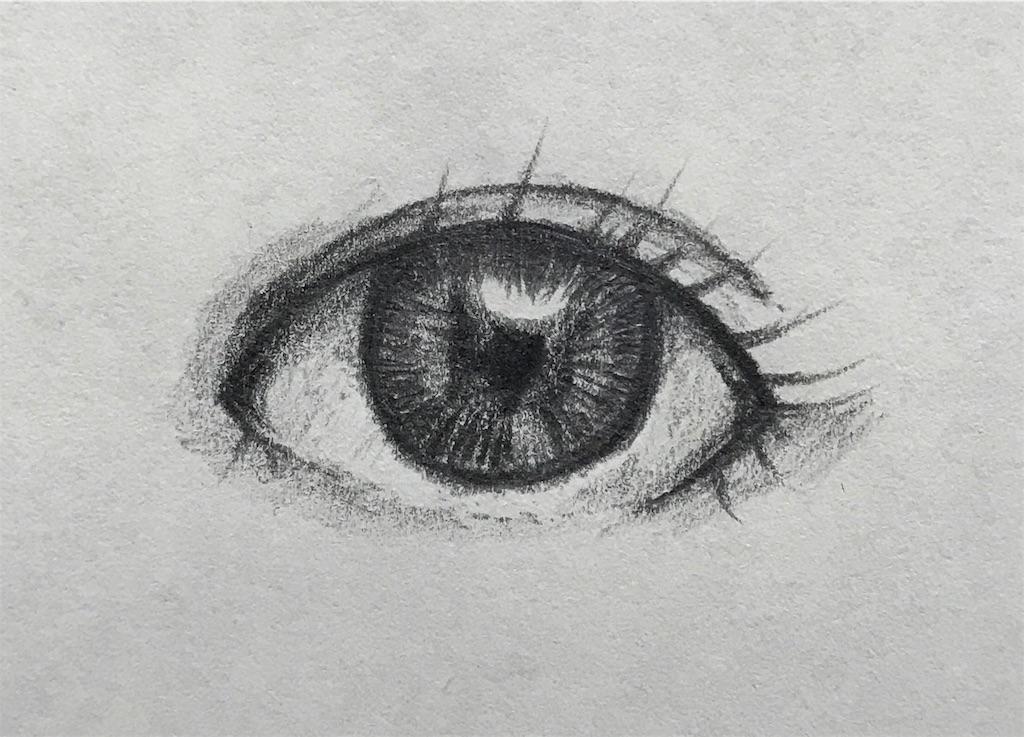 誰でも出来るリアルな目の描き方とちょっとしたコツを紹介 多趣味life