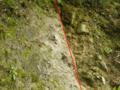 神縄断層(本州側の丹沢山地と伊豆半島との間の海底の礫層が隆起して