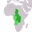 中部アフリカ