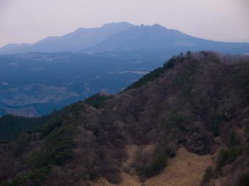 越敷岳より阿蘇
