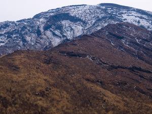仙酔尾根と高岳