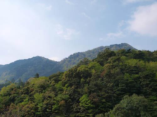 鹿嵐山 第二登山口より